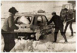 Photo de l'Almanach d'événement météo du 18/2/1986