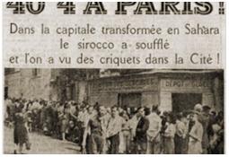 Photo de l'Almanach d'événement météo du 28/7/1947