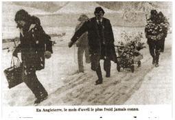 Photo de l'Almanach d'événement météo du 24/4/1981