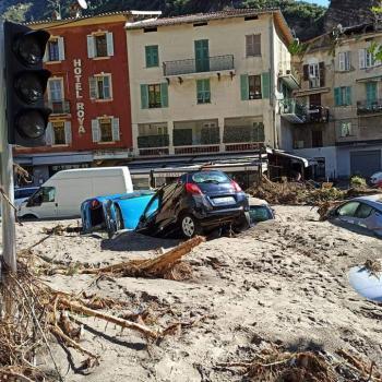 Tempête Alex : inondations catastrophiques dans les Alpes-Maritimes