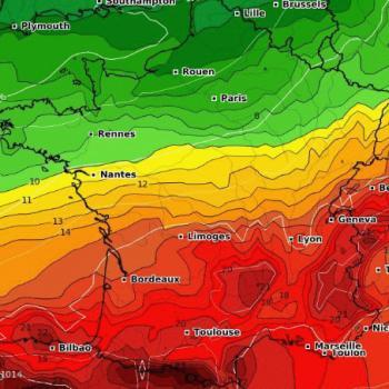 Températures : poursuite du contraste Nord/Sud la semaine prochaine
