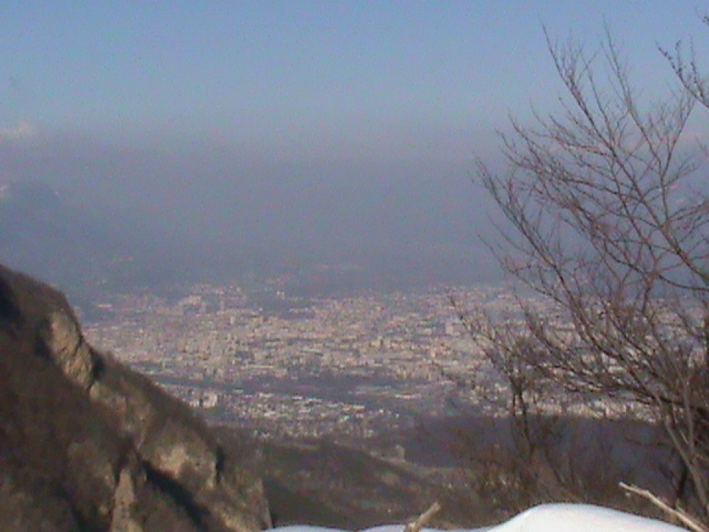 Pollution sur la ville de grenoble